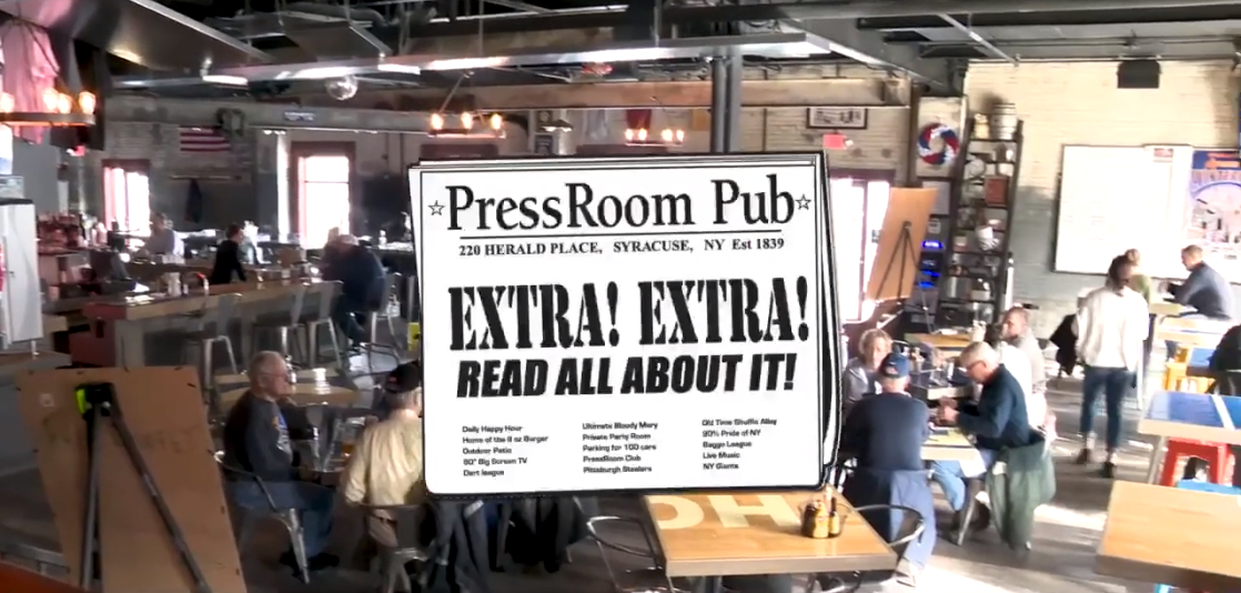 The Press Room Pub Syracuse NY